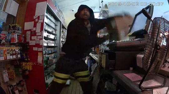 Calhoun County Sheriff Department deputies are searching for this suspect in a burglary in October