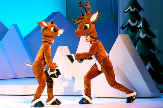"""The tour of """"Rudolph the Red-Nosed Reindeer: The Musical"""" will stop at the Broome County Forum on Thursday."""