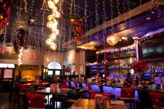 Miracle Cocktail Pop-Up Christmas bar at Katz 21 will be open from Nov. 25 until Dec. 31 and features Christmas themed decor and cocktails.