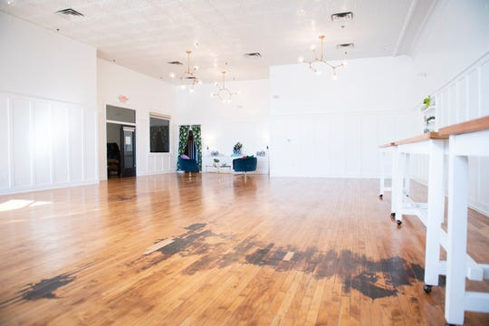 A new event space inside Sabrina's Cafe in Collingswood.