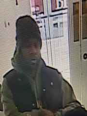 Police are looking for this man, who allegedly robbed a bank in Florence recently.