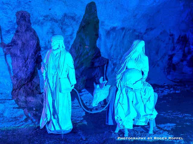 Here Is How You Can See Ohio S Free Christmas Cave Light Show