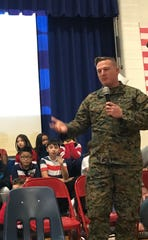 The Von E. Mauger Middle School community celebrated veterans on Nov. 13.