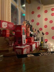 On Nov. 25, Catherine Lombardi, 5 Livingston Ave. in New Brunswick, officially opened up as a Miracle pop-up bar for the holiday season, full of kitschy Christmas cheerandoffering Yuletide-themed cocktails.