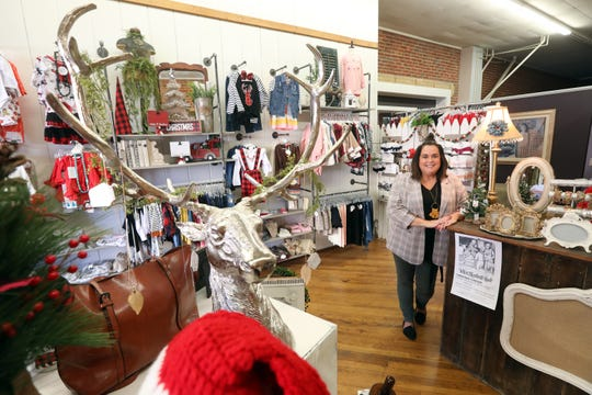 Jessie Bates recently opened Bexley Anns Boutique on Main Street in Coshocton. The store features infant and toddler clothing, with a small selection of women's clothing and accessories.