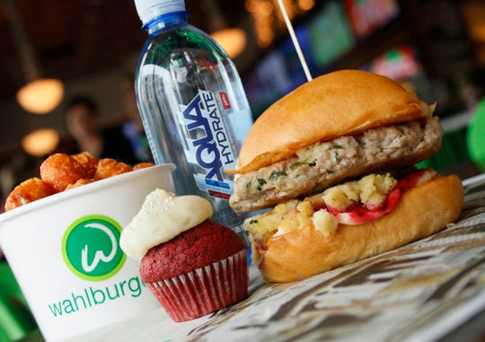 Thanksgiving Turkey Burger at Wahlburgers