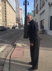 Vance Pearson is seen leaving federal court Tuesday in downtown Detroit.