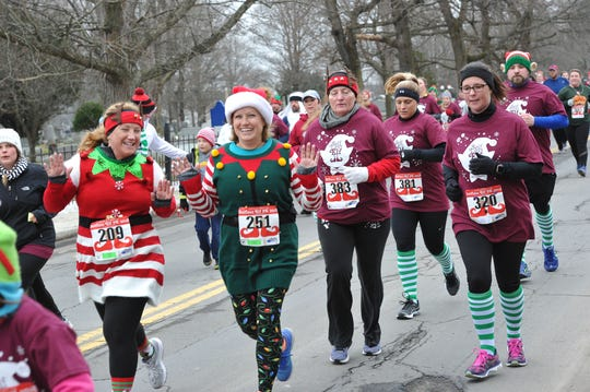 The Selfless Elf 5k Run/Walk will be held Saturday.