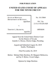 The 9th Circuit Court of Appeals released this opinion Tuesday.