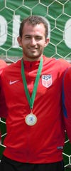 Louisville native Will Frentz attended DuPont Manual, played soccer at Centre College, and is now a member of the USA Deaf men's soccer team.