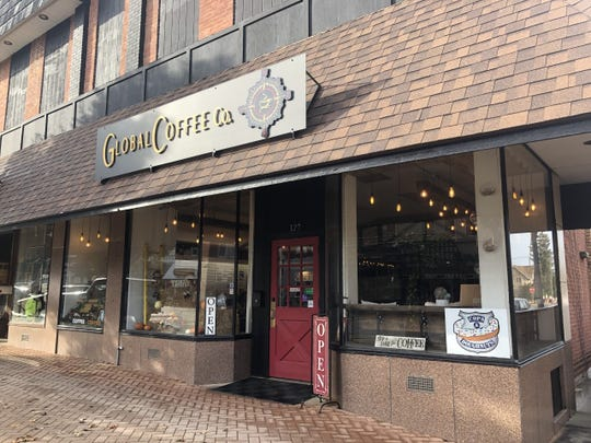 Global Coffee Co., a St. Johns coffee shop, just marked its one-year anniversary in the city's downtown. Owner Amber Haubert said she plans to expand the business next year, adding a gift shop in space behind the existing shop.
