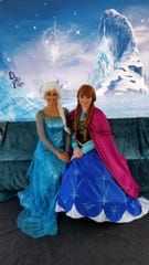 Children will have opportunities to meet the Snow Sisters on Dec. 14 and Dec. 21.
