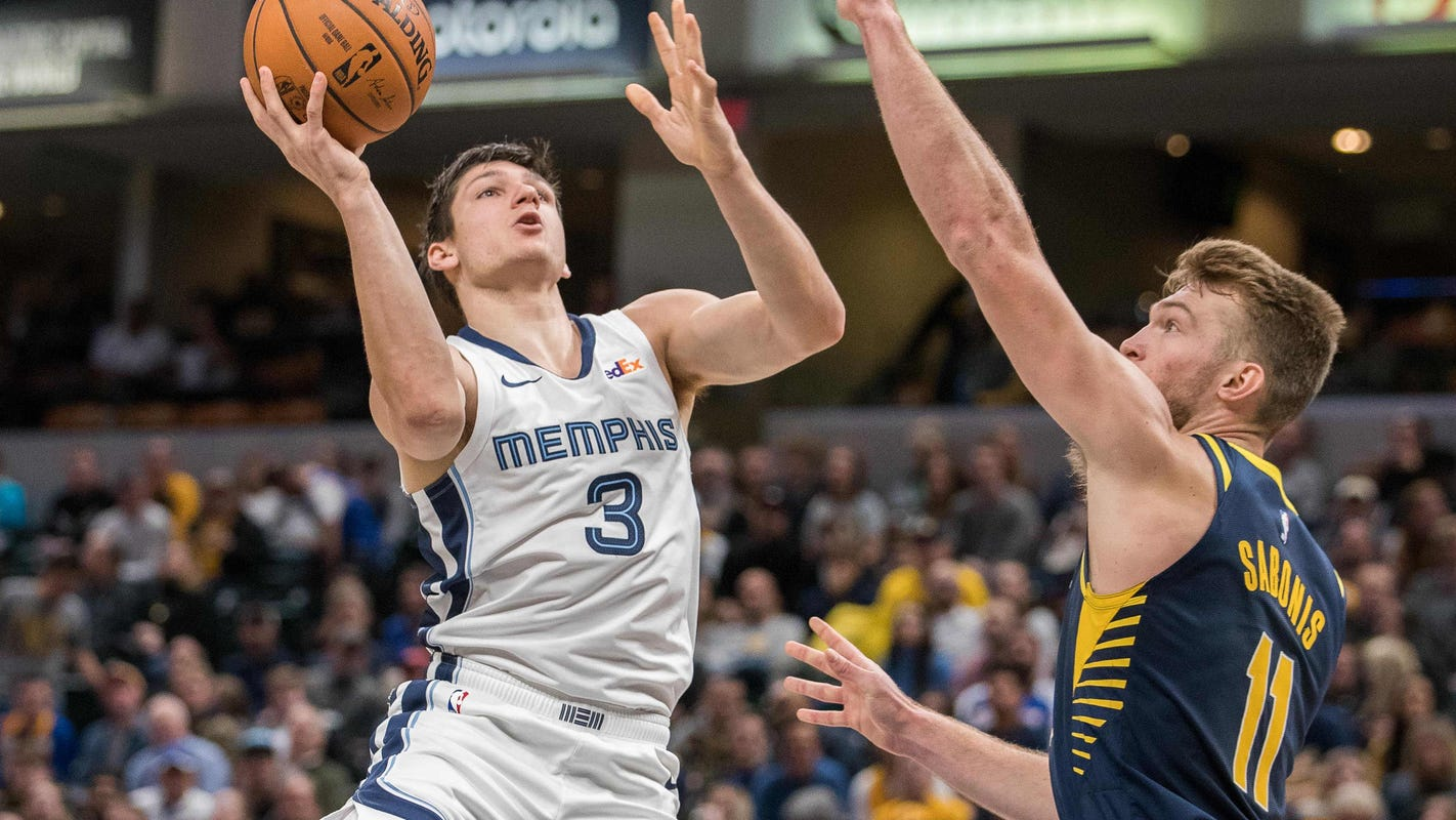 As Memphis Grizzlies' Grayson Allen plays at Utah, he may be turning a corner