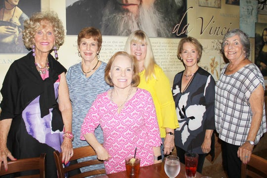 Susie Walsh, Pam Clune, Becca Scarborough, Lynn Tuttle, Ann Faroul and Jean Davis are longtime friends.