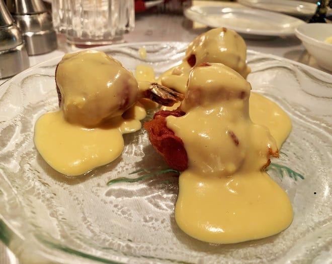 """The """"Shrimp Lenny from Café de Marco."""