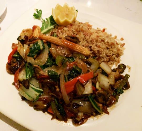 The vegetarian delight from Café de Marco.