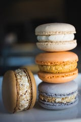Jessica Reinhardtsen keeps 13 to 16 flavors of macarons on hand daily.