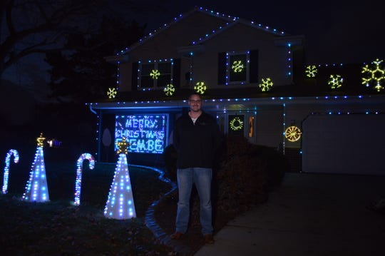 As soon as last Christmas was over, Bob Gray started working on this year's holiday light show for his South Milwaukee home.