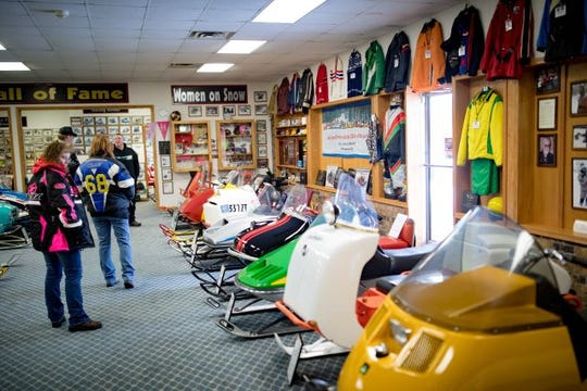 The Snowmobile Hall of Fame and Museum gives you a glimpse into the past.