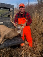 Jeff Beischel of Wauwatosa poses with a buck he shot on opening weekend of the 2019 Wisconsin gun deer season.