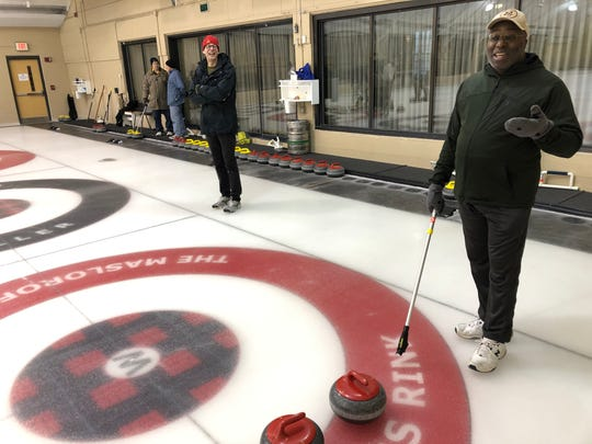 Terrence Green explains how his curling partner encourages him to get out of his bed to come curling twice a month.