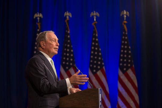 Democratic Presidential candidate Michael Bloomberg/