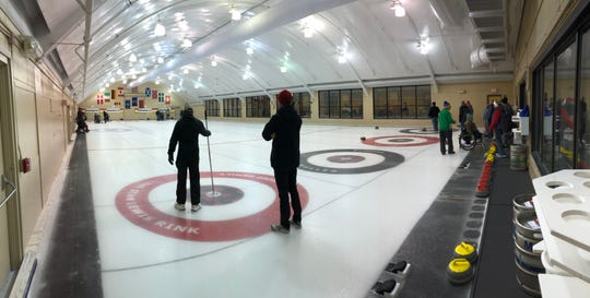 Volunteers at the Wauwatosa Club, 7300 W. Chestnut St., host training lessons for anyone who wants to play adaptive curling.