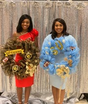 Miss Grambling State University Rickenzie Johnikin and Miss Southern A&M University Alacia Brew grew up together as childhood friends in Farmerville. They'll support opposite sides of a football rivalry this weekend at the Bayou Classic.