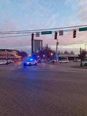 Murfreesboro Police:   Traffic is being re-routed at the intersection of Broad and Church Streets.