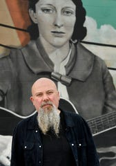 """Kendell Marvel 49-year-old Nashville songwriters steps out of the studio and into the spotlight with his new album, """"Solid Gold Sounds."""" Marvel made it big as a Music Row storyteller in the 1990s and 2000s, until Music Row veered away from the kind of songs he was writing. Tuesday, Nov. 26, 2019, in Nashville, Tenn."""
