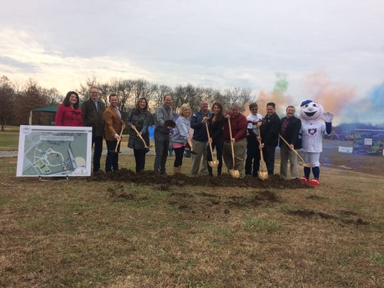 Gallatin's first-of-its-kind, all-inclusive Miracle Park broke ground in Triple Creek Park on Tuesday, Nov. 26.