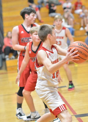 The Fairview Middle Falcons are undefeated after facing the Hickman Bulldogs on Nov. 18.