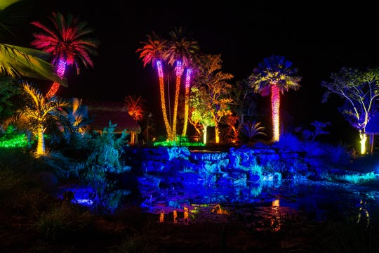 The Naples Botanical Garden will celebrate its 10th Night Lights in the Garden event from Nov. 29-Dec.23, 2019; Dec. 26-30, 2019;  and Jan. 1-5, 2020, from 6-9 p.m. each evening.