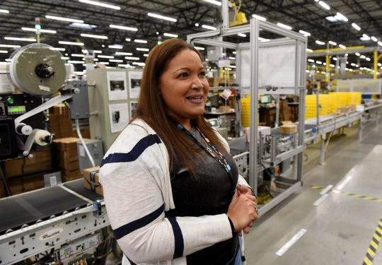 "Amazon Distribution Center tour leader Sarah Quick relates some of the most frequent questions guests ask during tours, such as ""What is the weirdest item shipped by Amazon?""."