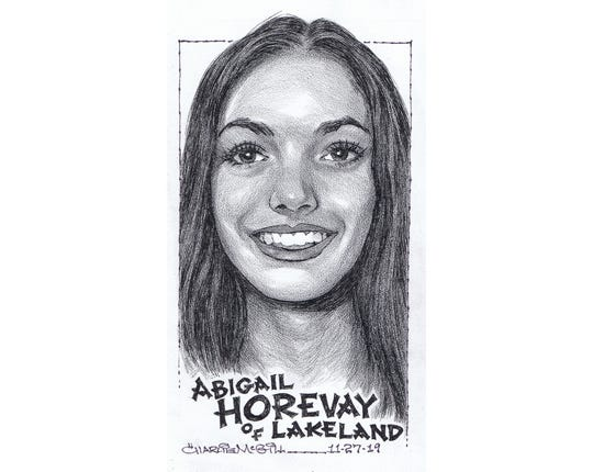 Abigail Horevay, Lakeland cross-country