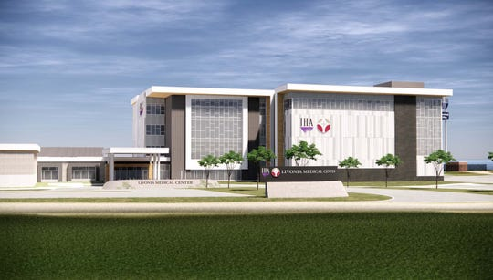 A rendering of the facility.
