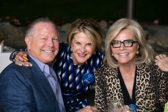 Jaime Kabler, Suzy Leprino and Jan Salta were on hand to honor Berger.