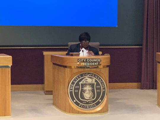 Councilwoman Jewel Cannada-Wynn was elected president of the Pensacola City Council on Tuesday, Nov. 26, 2019.