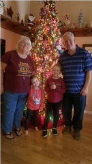 Laurie and Russ Cannizzaro let their granddaughters Sophie and Ella decide how to spend two $20 bills they received at a St. Vincent de Paul fundraising breakfast to help others.