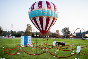 On Saturday, Amazon Prime Video will host a free Victorian fair, complete with hot air balloons, fair food, and fortune tellers, at Steele Indian School Park.