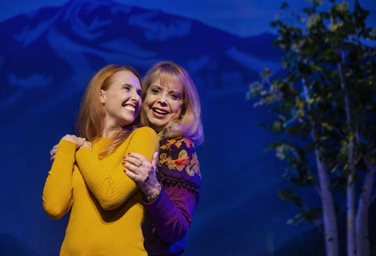 "Mary Jo West (right) with Trisha Ditsworth, star of the Phoenix Theatre Company's 2019 revival of ""The Sound of Music."" West played Maria back in 1982, breaking box-office records at the theater."