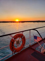 The United Way of St. Clair County is selling raffle tickets for a freighter cruise around the Great Lakes.