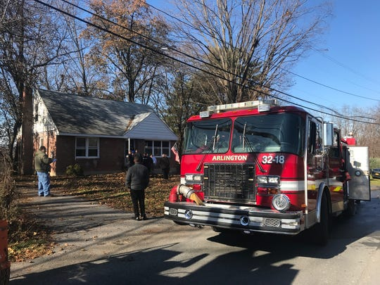 Scenes from a structure fire on Briarwood Drive in Poughkeepsie Tuesday morning.