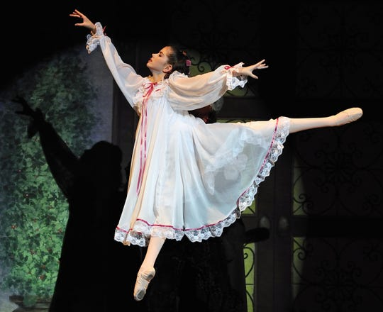 "A scene from the New Paltz Ballet Theatre production of ""The Nutcracker."""
