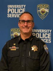 A photo of UNR Police Chief Todd Renwick. Renwick was named the police chief of the University Police Services.