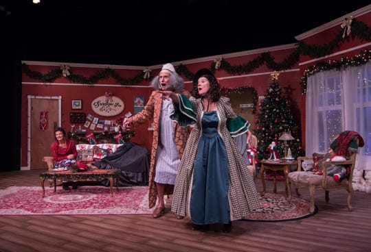 """Dashing Through the Snow"" at Pentacle Theatre runs from Nov. 29 through Dec. 21."