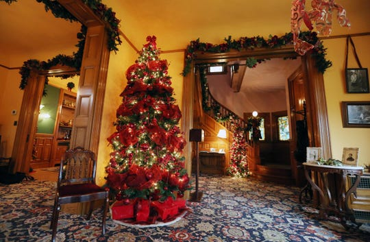 Deepwood Museum & Gardens is pairing up withBush House Museumto hosttheir annual Holiday Open Houses Dec. 1 and 8.