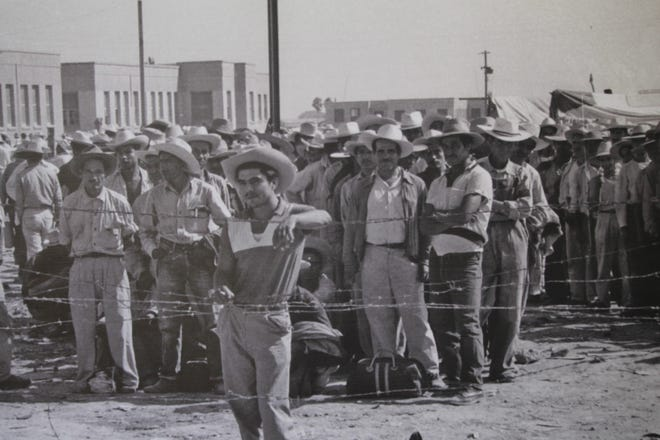 California farmworkers in the late 1950s.