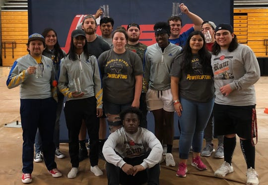 The ASU Ram Powerlifting Club brought home  eight awards from the 2019 Longhorn Open at the University of Texas at Austin.
