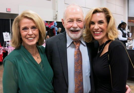 Georgiana and Dr. Austin Gleason and Sharon Gleason Wadder at Patron Party.